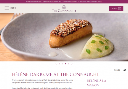 The Connaught - Top French Michelin Restraurant in London