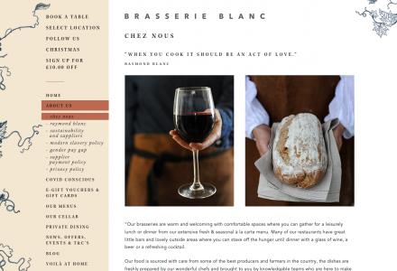 Brasserie Blanc in Leeds