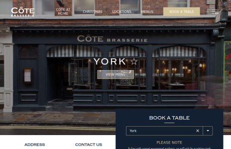 Côte Brasserie York