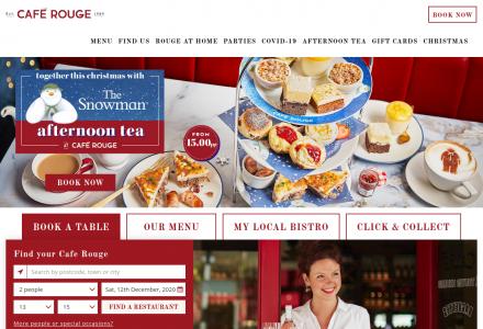 Cafe Rouge in Bristol