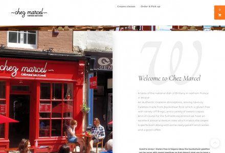 French Dining in Bristol at Chez Marcel