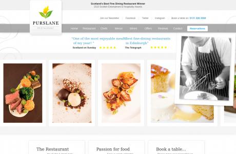 Purslane - Best French Restaurant in Edinburgh