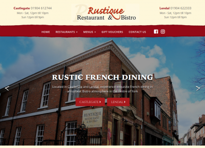 Rustique French Dining York