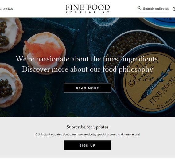 FineFoodSpecialist.co.uk Online Shop