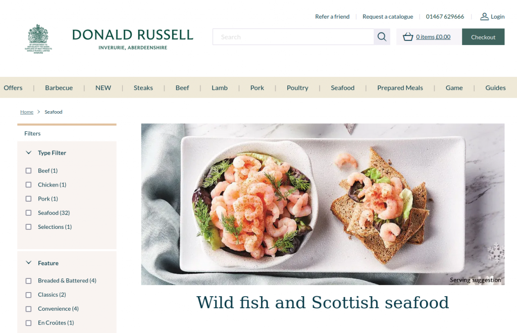 Donald Russell Seafood