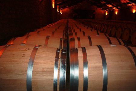 barrique barrels with Vega Sicilia Unico