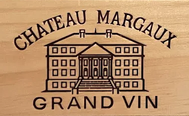 chateau margaux wine sign